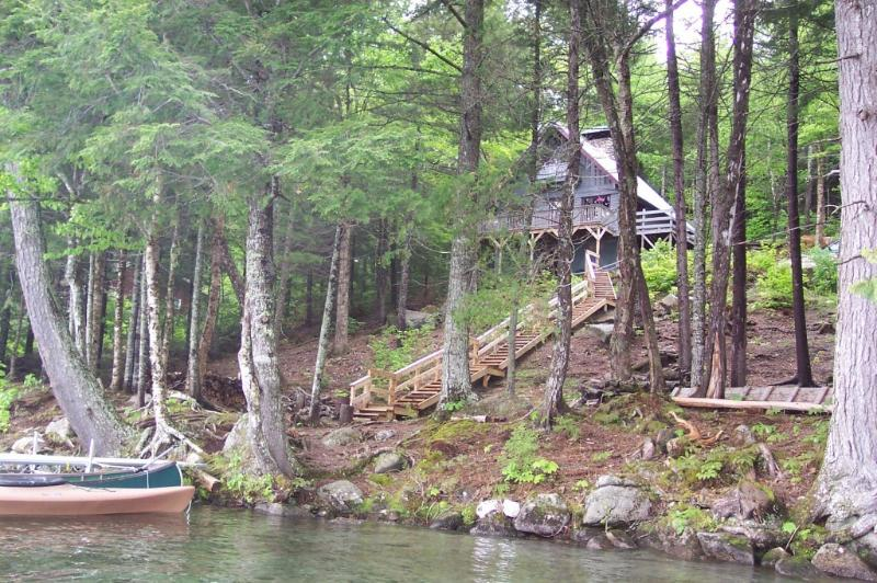 From Lake - A Quiet Place on a Beautiful Lake - 200ft Frontage - Island Falls - rentals