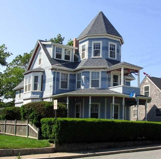Front View - Cape Cod Area, Victorian Beach House - Onset - rentals