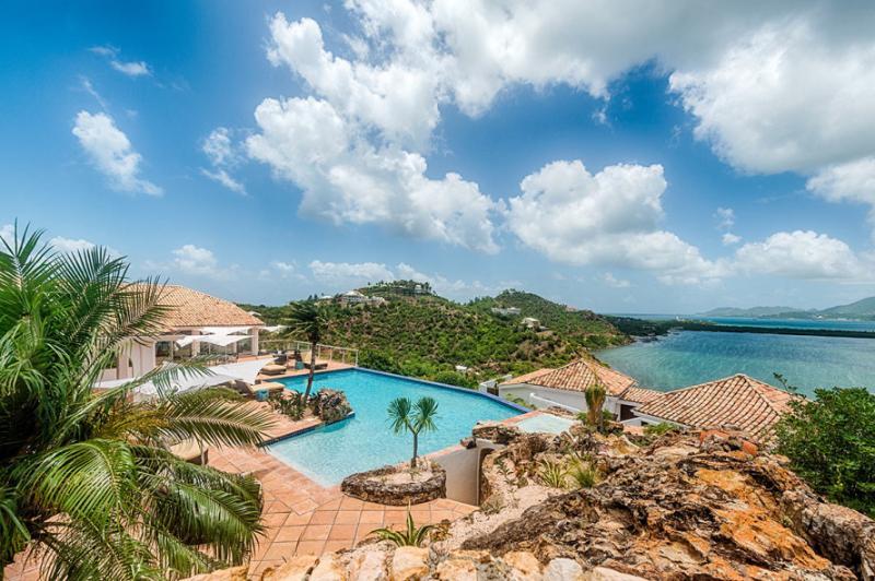 Le Rocher... L'Anse aux Acajoux, Terres Basses, St Martin 800 480 8555 - LE ROCHER... L'Anse aux Acajoux, Terres Basses, St Martin - Saint Martin-Sint Maarten - rentals