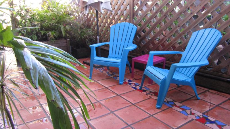 lovely courtyard - Caribbean romantic guest cottage - Le Gosier - rentals