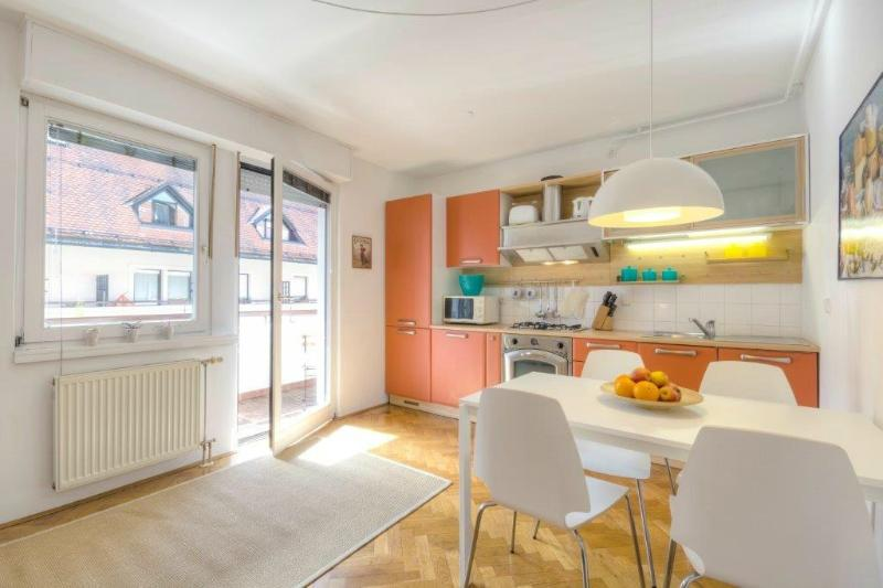 Modern, fully-equipped bright apartment with a terrace exit in the living room - 1-Bedroom Ziherlova - Fine Ljubljana Apartments - Ljubljana - rentals