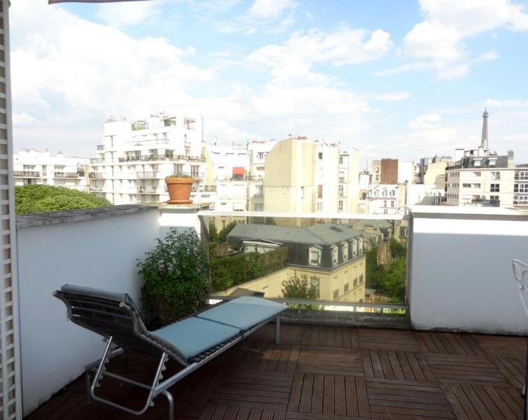 Terrace - Eiffel Tower, terrace, top floor - Paris - rentals
