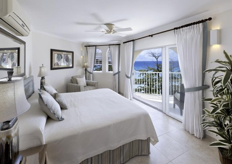 Master-Suite with stunning view to the sea - Barbados beachfront condo with fabulous views - Dover - rentals