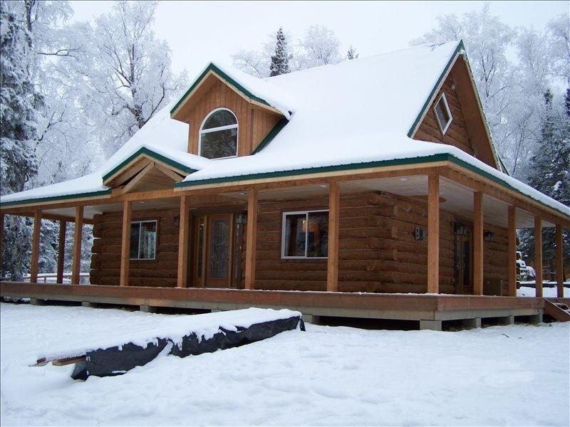 Luxury Log Home: Enjoy Alaska in Style and Comfort - Image 1 - Wasilla - rentals