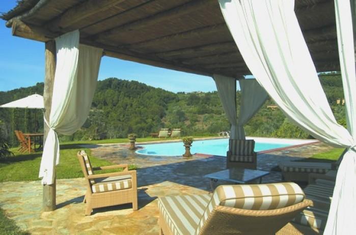 3 bedroom Villa in Orbicciano, Nr Lucca, Tuscany, Italy : ref 2018047 - Image 1 - Orbicciano - rentals