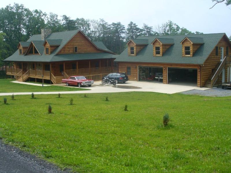 Garnerland - Log Home near Luray & Skyline Dr Shenandoah Valley - Luray - rentals