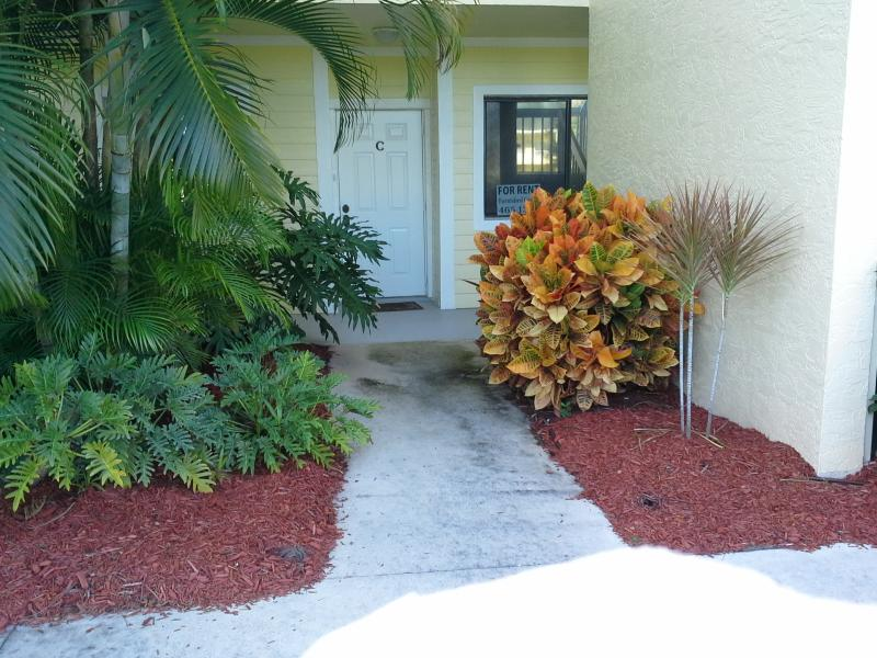4235 Gator Trace  front door - Golfers Retreat - Fort Pierce - rentals