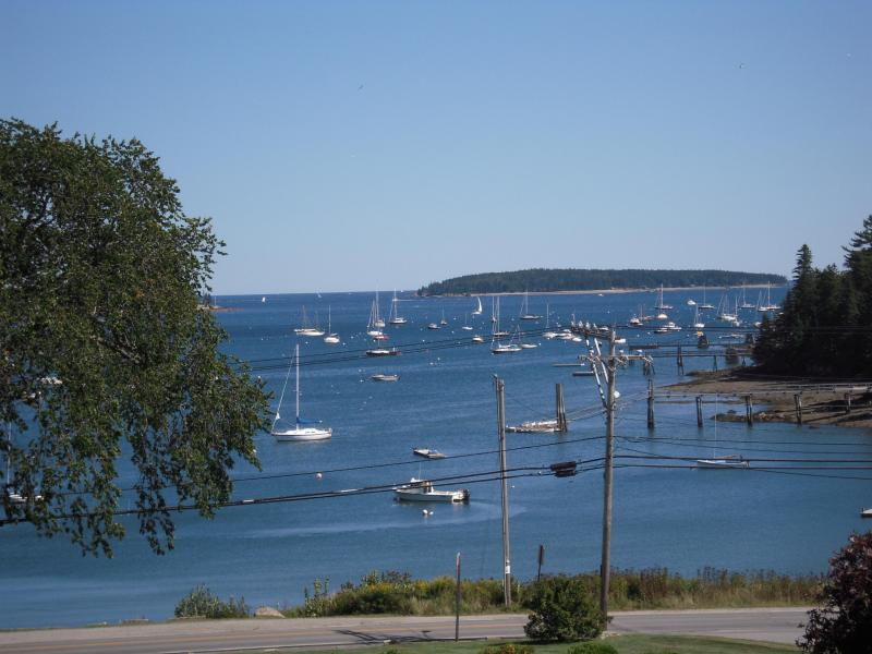 View from Deck - Southwest Harbor Oceanfront 2 Bedroom 2 Bath Condo - Southwest Harbor - rentals