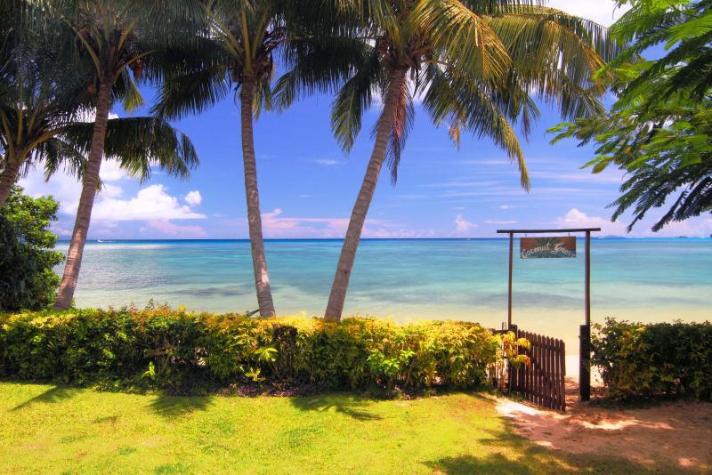 Your private beach~ - Beachfront Cottage on secluded romantic beach - Matei - rentals