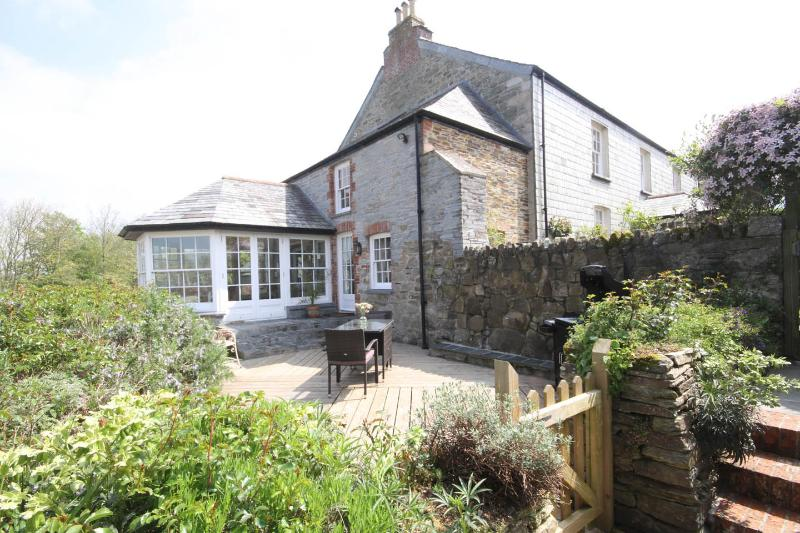 Private entrance - Pippins - Hendra Farmhouse Annex - Port Isaac - rentals