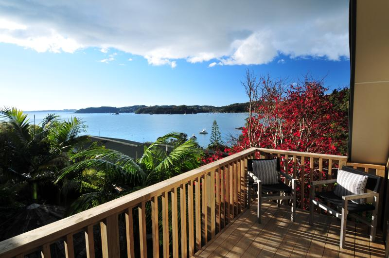 View From Deck looking to Russell - Bay Of Islands Beach House Loft - Russell - rentals