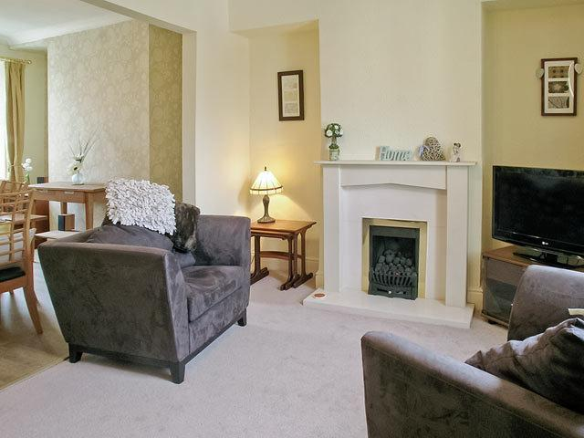 modern lounge for relaxing after a days sight seeing or walking . large flat screen T.V and  DVD - Bank House Ingleton.   call for short stay price - Ingleton - rentals