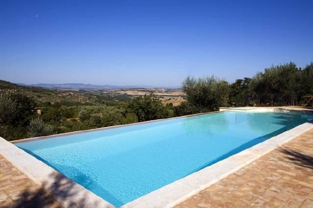 Swimming pool - Paciano 1 bedroom apartment (BFY13197) - Paciano - rentals