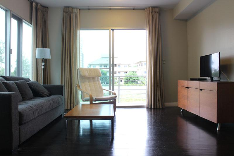 Living Area 1 - Nice 2 bedrooms beach front  condo, Hauhin, TH - Hua Hin - rentals
