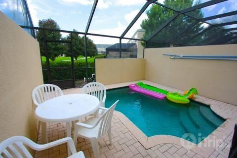 Private pool area with pool toys - 7676 Windsor Hills - Kissimmee - rentals