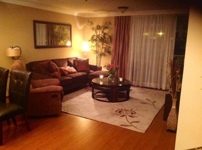 Living  room with flat television  to watch netflix - Quito Casa de Pilar - Quito - rentals