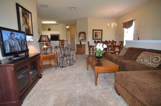 3 Bedroom 2 Bathroom Condo With Waterfront View. 2847OD - Image 1 - Orlando - rentals