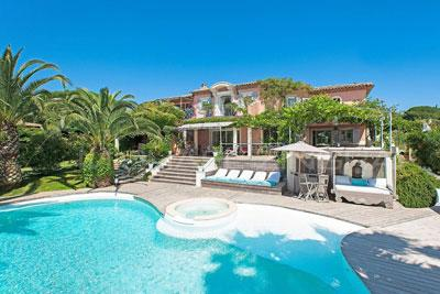 Saint-Tropez Superb Vacation Rental with a Pool and Garden - Image 1 - Saint-Tropez - rentals