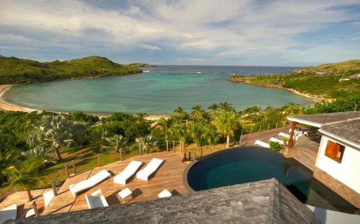 Luxury 6 bedroom St. Barts villa. Private beach and gazebo! - Image 1 - Petit Cul de Sac - rentals