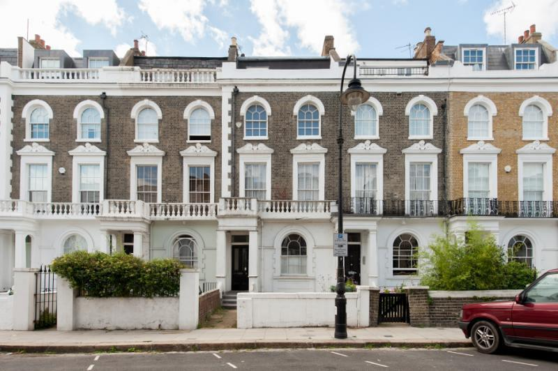 Garden flat in Georgian Terrace - Primrose Hill, Central London - London - rentals