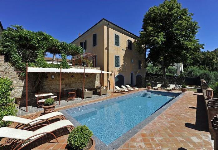 5 bedroom Villa in Fabbrica Di Peccioli, Nr Volterra, Tuscany, Italy : ref 2226490 - Image 1 - Peccioli - rentals