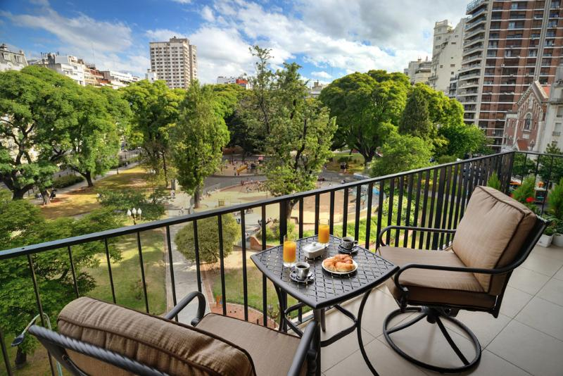 Balcony - Luxury 2br apartment View - Buenos Aires - rentals