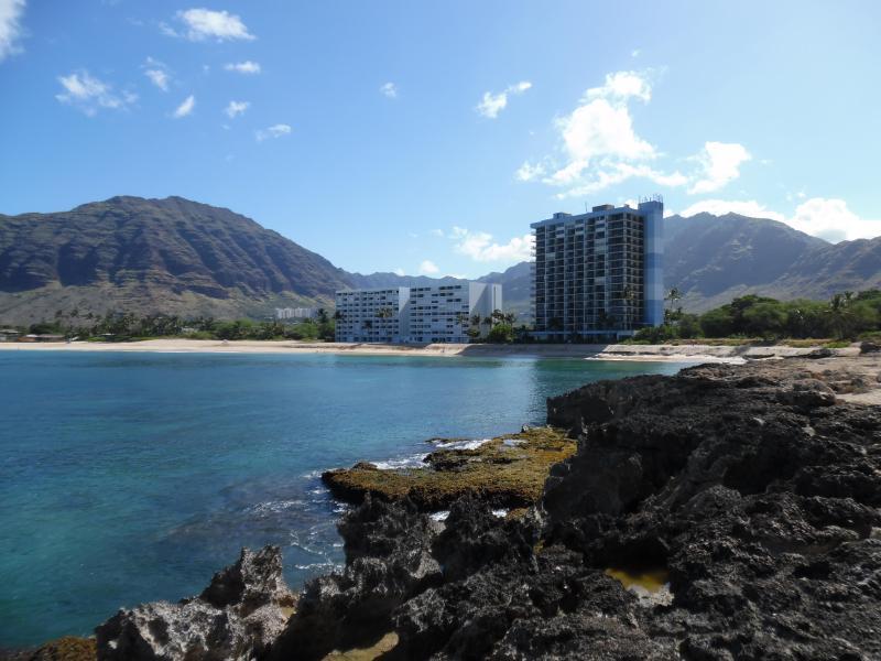 Makaha Beach Cabanas Penthouse Oceanfront Getaway - Image 1 - Makaha - rentals