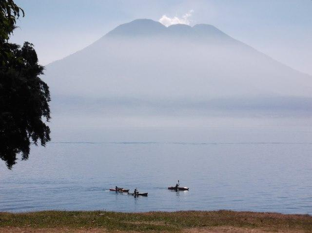 Amazing Lake Atitlan and Volcano view from Casita de la Sirena.in Jaibalito. - Lake Atitlan Lake front rental - Jaibalito - rentals