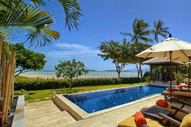 Samui Island Villas - Villa 01 Beach Front - Image 1 - Plai Laem - rentals