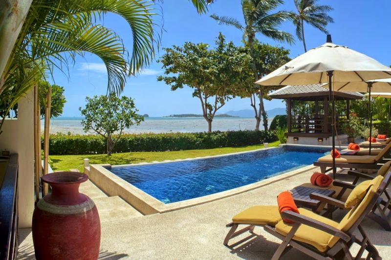 Villa 01 - Great Value Beach Front With Pool - Image 1 - Plai Laem - rentals