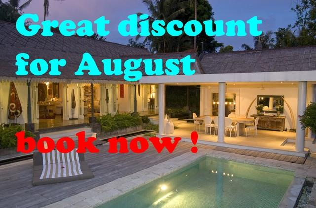 August only !!!! - great villa for rent in all of August !!! - Canggu - rentals