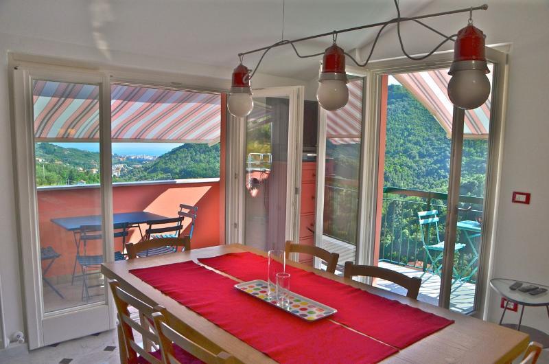 Attic Sole + Room Stelle near 5 Terre & Portofino - Image 1 - Leivi - rentals