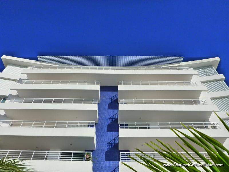 Oceanfront with full width balconies - A Luxurious Oceanfront Cozumel Condo,  Nah Ha 602 - Cozumel - rentals