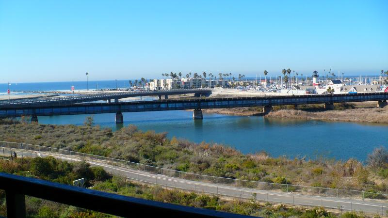 Beautiful relaxing view from your private Balcony. - Ocean Waves, Beach,  Harbor, Sunsets. Monthly - Oceanside - rentals