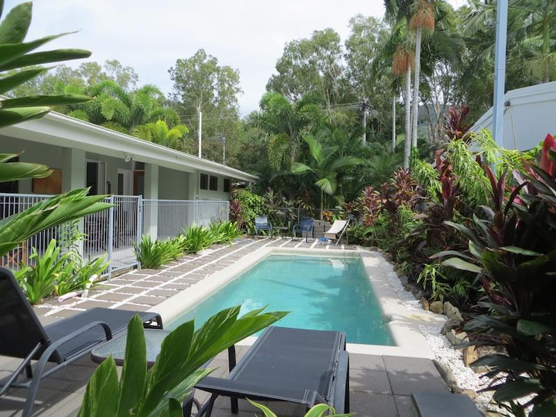 Swimming pool in rainforest setting - Mahaloa Beach House at Palm Cove/Clifton Beach - Clifton Beach - rentals