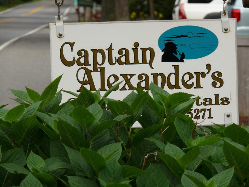 Our Sign You Have Arrived - Crows Nest @ Captain Alexander's Hideaway - West Harwich - rentals
