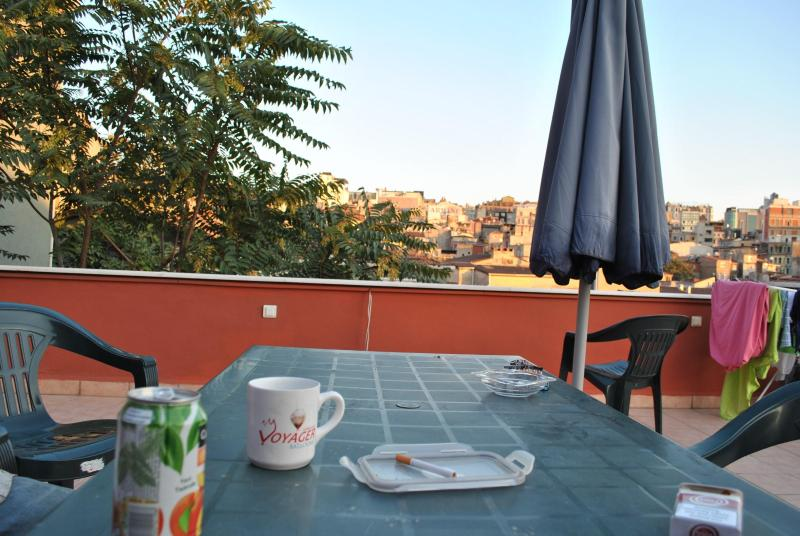 Teras - Nice Flat ,  Aesthetic Red House - Istanbul - rentals