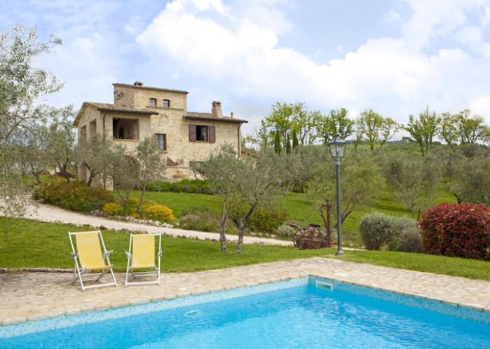 5 bedroom Villa in Collazzone, Perugia, Umbria, Italy : ref 2017853 - Image 1 - Collazzone - rentals