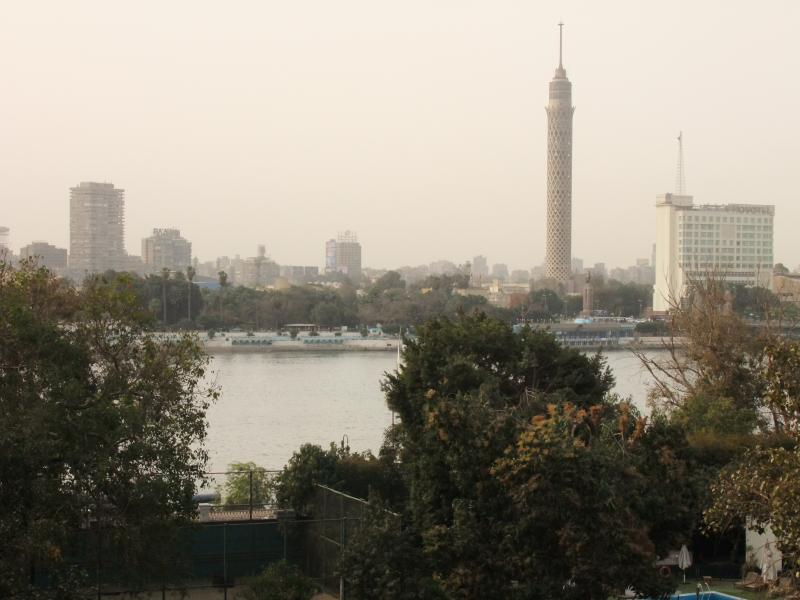 Reception view - Cairo charm, excellent apartment, Nile view - Cairo - rentals