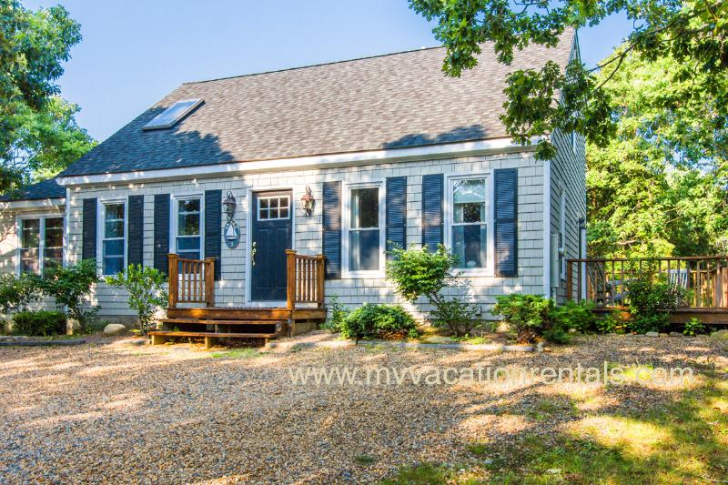 Front of House and Deck - YANKB - Westminster Acres, WiFi - Edgartown - rentals