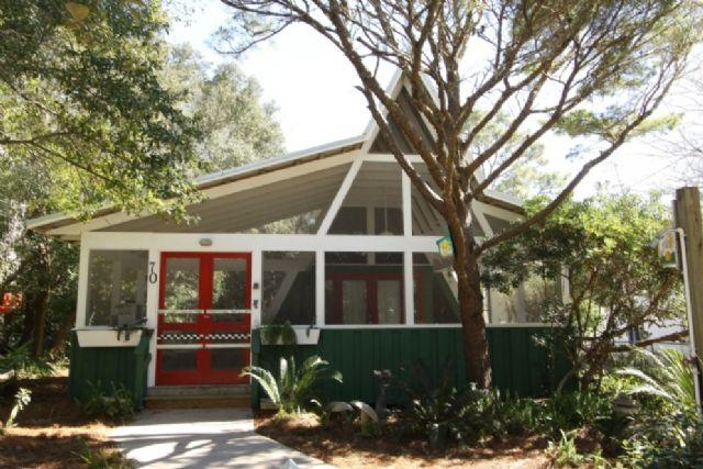 Watermelon House - Adorable A-Frame in Seagrove - Watermelon House - Seagrove Beach - rentals