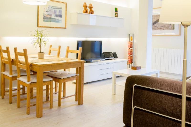 Comfortable with terrace near La Concha beach WIFI - Image 1 - San Sebastian - Donostia - rentals