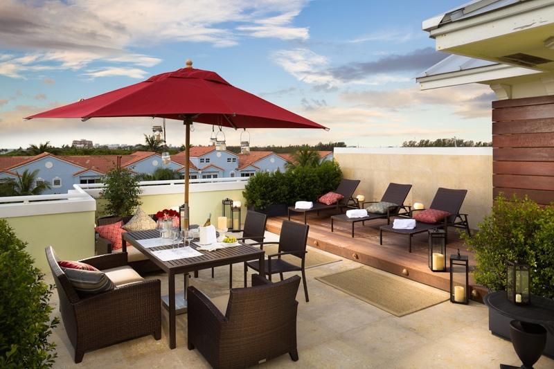 Terrace with griller - Las Casas - Luxyury Villa in Hollywood Beach - Hollywood - rentals