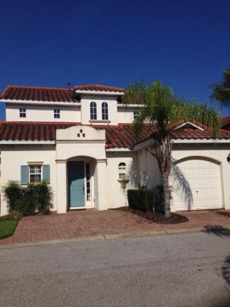 Front of home - Stunning mediterranean style villa,gated community - Davenport - rentals