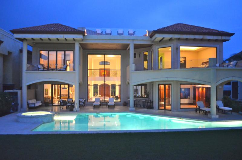The house from the beach - Amazing Ocean Front Villa Royal Palms - Playa Hermosa - rentals