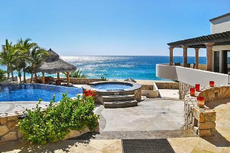 Beachfront Castillo Escondido- infinity pool- Jacuzzi & fire pit, near golf - Image 1 - San Jose Del Cabo - rentals