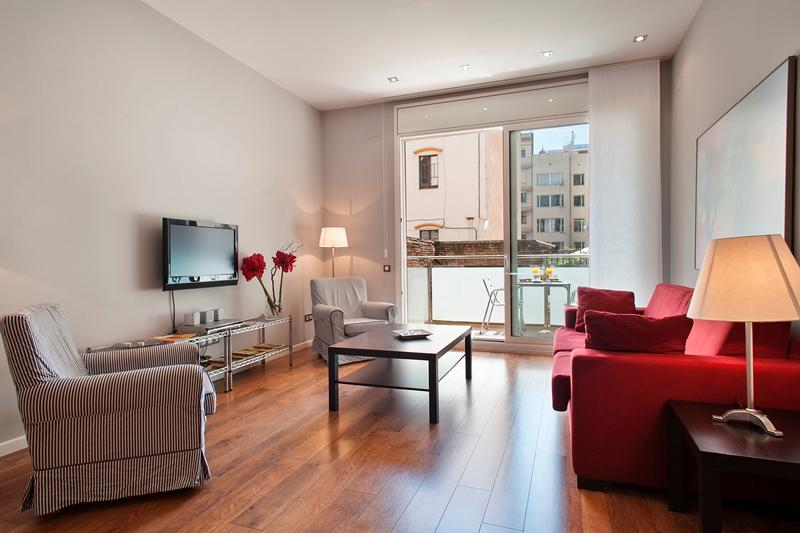 Passeig de Gracia - 1 bedroom apt with balcony - Image 1 - Barcelona - rentals