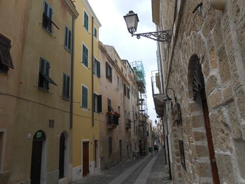 via Gavour street view - Alghero Holiday Flat Gavour A - Alghero - rentals