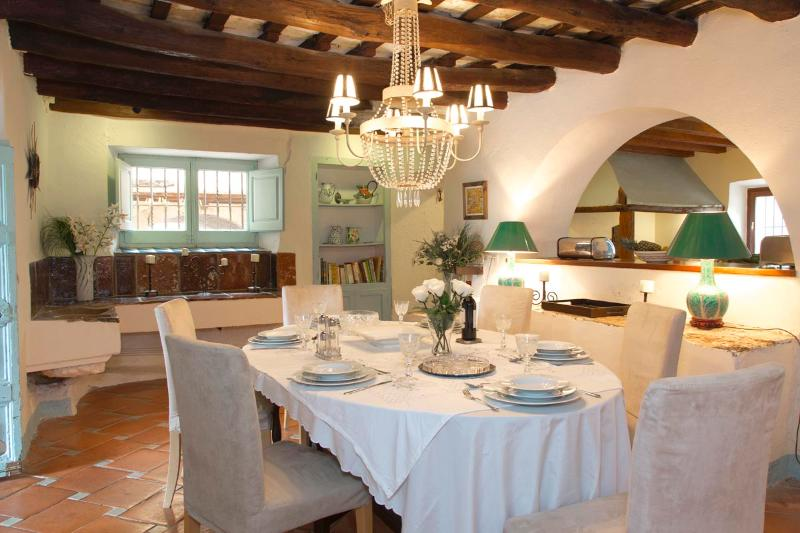 Breakfast/Dining room. One of two dining rooms. - Large Villa, near Sitges Barcelona sea -sleeps 21 - Sitges - rentals