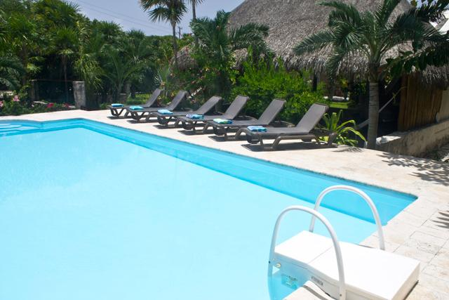 Large pool Caption - Azul Riviera* Private Entry Yal-Ku Lagoon, and caribbean access - Akumal - rentals